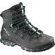Salomon Quest 4D 2 GTX Trekking Shoes Women asphalt/green black/haze blue